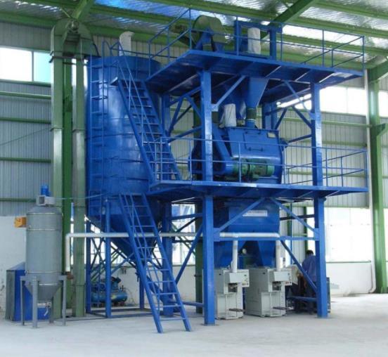节能型干粉砂浆生产线