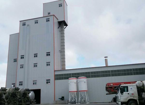 阶梯式大型干混砂浆生产